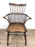 Early Georgian Windsor Stick Back Chair (10 of 11)