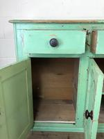 Victorian Antique Pine Painted Dresser Base Sideboard (3 of 14)