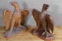 Pair of Salt Glazed Eagles c.1910 (10 of 11)