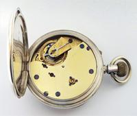 Antique 1895 English Silver Pocket Watch (5 of 5)