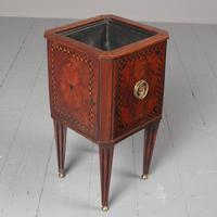Antique Dutch Small Inlaid Mahogany Jardiniere (2 of 15)