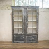 Large Scale 19th Century Painted Housekeepers Cupboard (10 of 17)