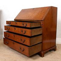 Georgian Oak Writing Bureau Cabinet (9 of 12)