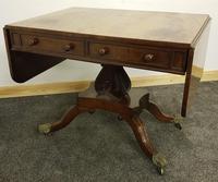 Antique Regency Mahogany Sofa Table (8 of 13)