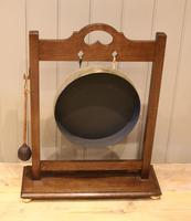 Oak Framed Floor Standing Gong (9 of 9)