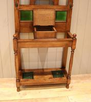 Solid Oak Hall Stand (8 of 10)