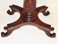 American Regency mahogany card table (5 of 9)