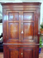 Country Oak Formal Corner Cupboard c.1770 (3 of 10)