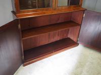 Tall George III Mahogany Cabinet Bookcase (11 of 13)