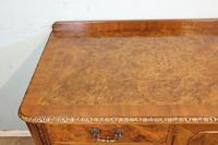 Burr Walnut Queen Anne Style Sideboard Server c.1930 (7 of 16)