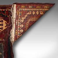 Antique Tekke Torba, Caucasian, Woven, Tent Bag, Decorative Wall Covering, 1900 (10 of 10)