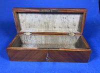 Victorian French Tulipwood Glove Box (5 of 15)