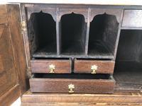 Antique Oak Carved Desk (6 of 13)