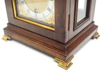 Stunning Burr Walnut Basket Top Bracket Clock by Charles Frodsham Clock Makers to The King (5 of 12)