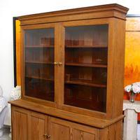 Oak Pine School Cabinet 19th Century (10 of 12)