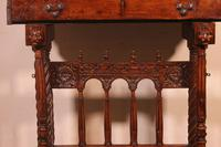 Spanish Renaissance Cabinet Bargueno in Walnut - Early 17th Century (3 of 18)