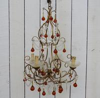 Mid 20th Century French Chandelier