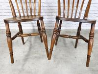 Pair of Windsor Lath Back Chairs (4 of 6)
