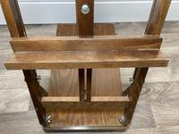 Mid 20th Century Artists Studio Tabletop Easel with Carry Handle & Drawer (5 of 28)