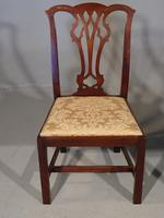 Good Early 20th Century Set of 8 '7+1'  Chippendale Design Mahogany Chairs (2 of 6)