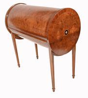 Art Deco Roll Top Desk & Chair Set 1920s (10 of 16)