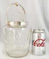 WMF Silver Plated Biscuit Barrel c.1930 (2 of 7)