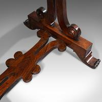Antique Fold Over Games Table, English, Rosewood, Chess, Cards, Regency c.1820 (11 of 12)