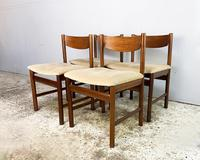 4 x 1960's Mid Century Dining Chairs by White & Newton (3 of 4)