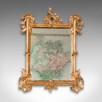 Small Antique Vanity Mirror, Italian, Giltwood, Dressing, Victorian c.1890 (2 of 10)