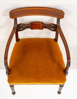 Set of 6 Sheraton Revival Dining Chairs (10 of 17)