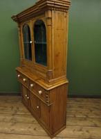 Antique Irish Kitchen Dressser with Glazed Top, Rustic Country Dresser (9 of 11)