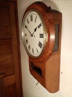 Twin-Fusee, Bell Striking, Drop-dial Wall Clock (3 of 3)