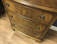 Bow Front Mahogany Chest of Drawers (8 of 8)