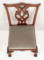 Set of 8 Mahogany Chippendale Style Dining Chairs (17 of 17)