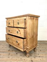 Small Victorian Pine Chest of Drawers (9 of 10)
