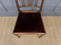 Set of 8 Georgian Mahogany Dining Chairs (11 of 16)