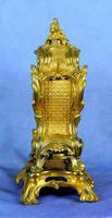 Fine English Ormolu Fusee Mantle Clock - Webster of London (9 of 9)