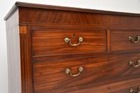 Antique Georgian Inlaid Mahogany Chest of Drawers (9 of 11)