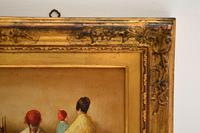 Antique Oil Painting in Gilt Wood Frame (7 of 9)