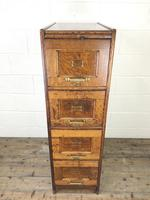Antique Oak Four Drawer Filling Cabinet (2 of 12)