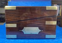 Victorian Full Brassbound Rosewood Writing Slope (7 of 19)