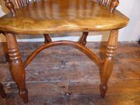 Matched Pair of Yew Windsor Chairs (3 of 13)