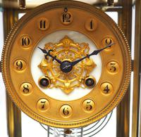 Incredible French 4 Glass French Regulator 8-day Mantle Clock (9 of 12)