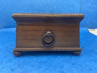 William IV Rosewood Box With Mother Of Pearl Inlay (6 of 14)