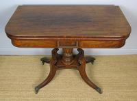 Elegant Regency Mahogany Side / Tea Table (5 of 7)