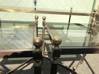 Quality Nest of 3 Brass Tables (8 of 8)