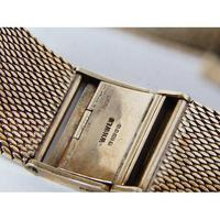 9ct Gold Gentleman's Wristwatch on 9ct Gold Bracelet by Marvin (2 of 7)