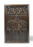 Pair of 16th Century Gothic Oak Panels (2 of 4)
