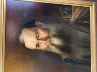 19th Century Oil on Canvas Portrait (5 of 7)