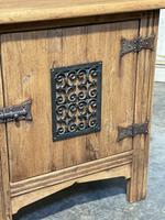 Small Bleached Oak Cupboard (3 of 20)